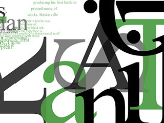 Times New Roman, Typography Exploration