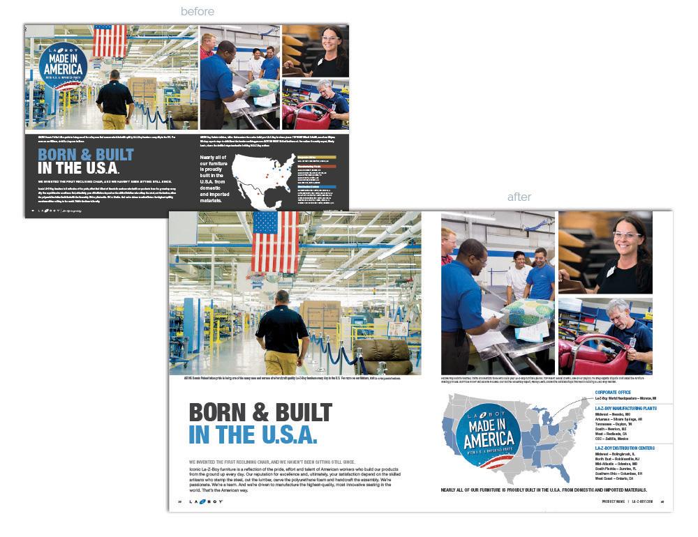 La-Z-Boy Catalog Refresh USA